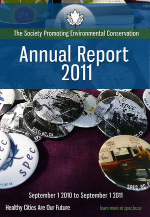 Annual Report Cover 2011